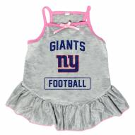New York Giants NFL Gray Dog Dress