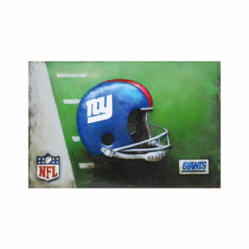 New York Giants NFL Metal Wall Art