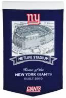 New York Giants NFL MetLife Stadium Banner