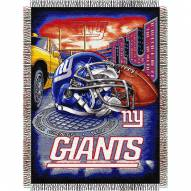 New York Giants NFL Woven Tapestry Throw