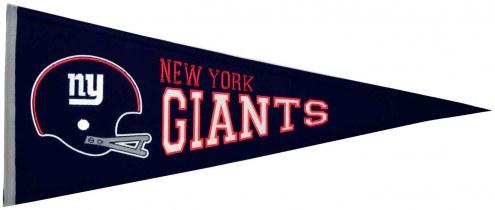 New York Giants NFL Throwback Pennant