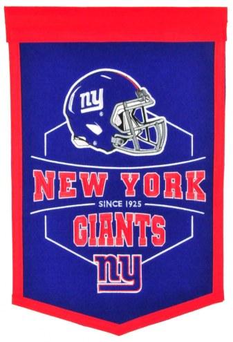 New York Giants Revolution Traditions Banner