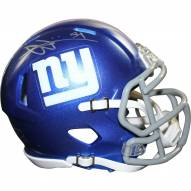 New York Giants Olivier Vernon Signed Speed Mini Helmet