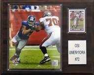 "New York Giants Osi Umenyiora 12 x 15"" Player Plaque"