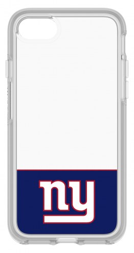 New York Giants OtterBox iPhone 8/7 Symmetry Clear Case