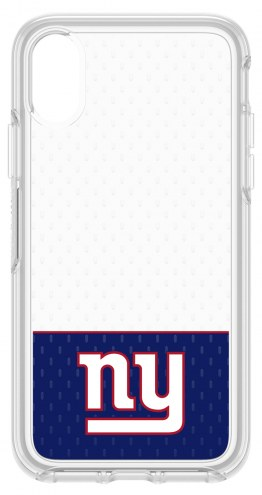 New York Giants OtterBox iPhone X Symmetry Clear Case