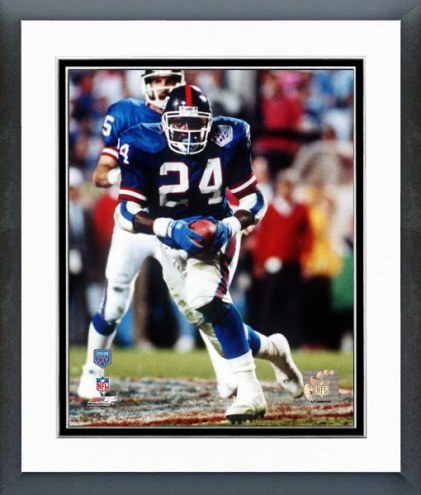 New York Giants Ottis Anderson Super Bowl XXV Framed Photo