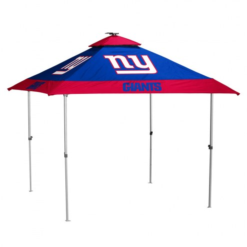 New York Giants Pagoda Tent with Lights