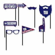 New York Giants Party Props Selfie Kit