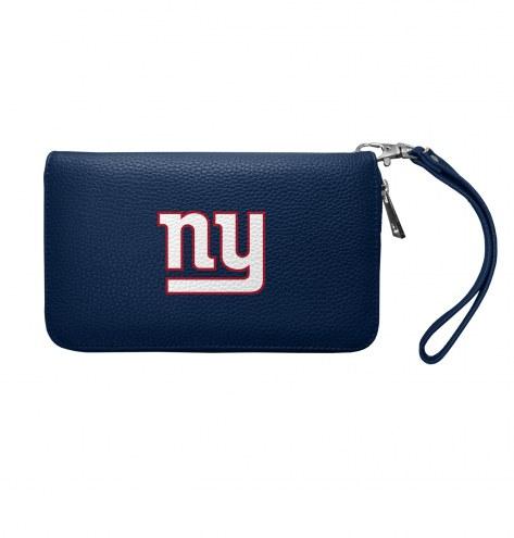 New York Giants Pebble Organizer Wallet