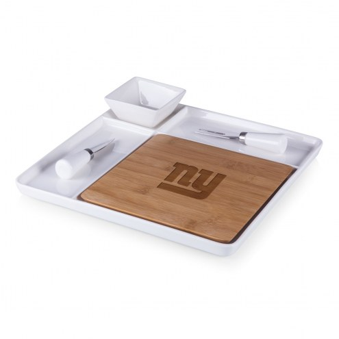 New York Giants Peninsula Cutting Board Serving Tray