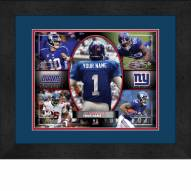 New York Giants Personalized 13 x 16 Framed Action Collage aa4418452