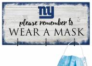 New York Giants Please Wear Your Mask Sign