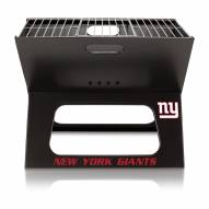 New York Giants Portable Charcoal X-Grill