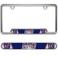 New York Giants License Plate Frame