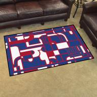 New York Giants Quicksnap 4' x 6' Area Rug