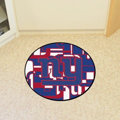 New York Giants Quicksnap Rounded Mat