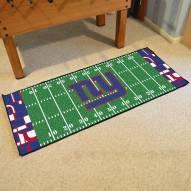 New York Giants Quicksnap Runner Rug