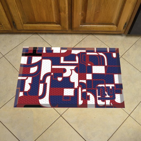 New York Giants Quicksnap Scraper Door Mat