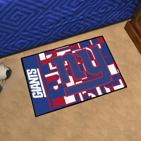 New York Giants Quicksnap Starter Rug