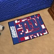 New York Giants Quicksnap Starter Rug