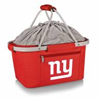 New York Giants Red Metro Picnic Basket