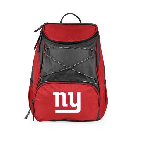 New York Giants Red PTX Backpack Cooler