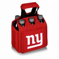 New York Giants Red Six Pack Cooler Tote