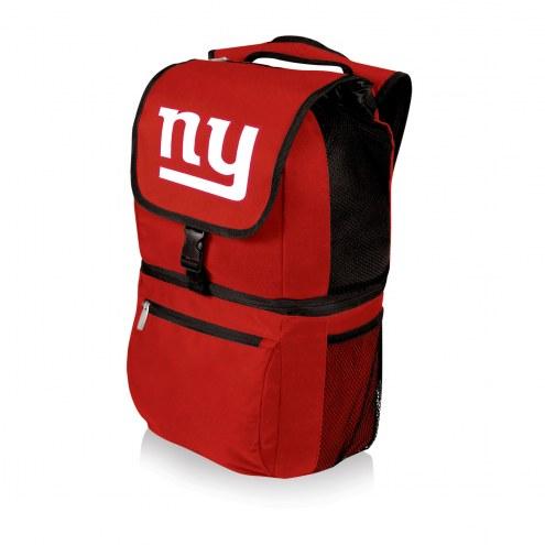 New York Giants Red Zuma Cooler Backpack