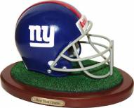 New York Giants Collectible Football Helmet Figurine