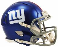 New York Giants Riddell Speed Mini Collectible Football Helmet