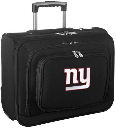 New York Giants Rolling Laptop Overnighter Bag