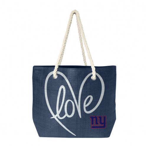 New York Giants Rope Tote
