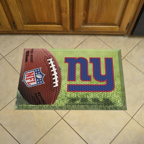 New York Giants Scraper Door Mat