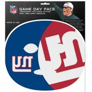 New York Giants Set of 8 Game Day Faces