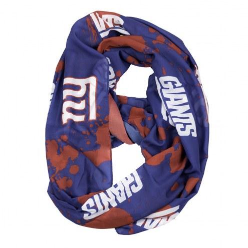New York Giants Silky Infinity Scarf