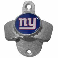 New York Giants Wall Mounted Bottle Opener