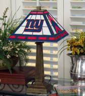 New York Giants Stained Glass Mission Table Lamp