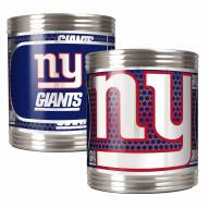 New York Giants Stainless Steel Hi-Def Coozie Set