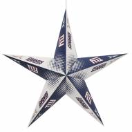 New York Giants Star Lantern