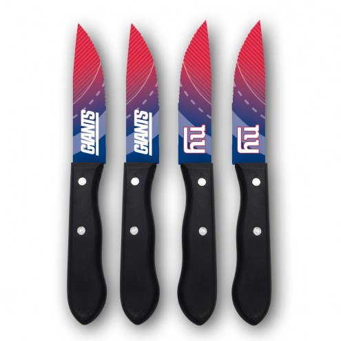 New York Giants Steak Knives