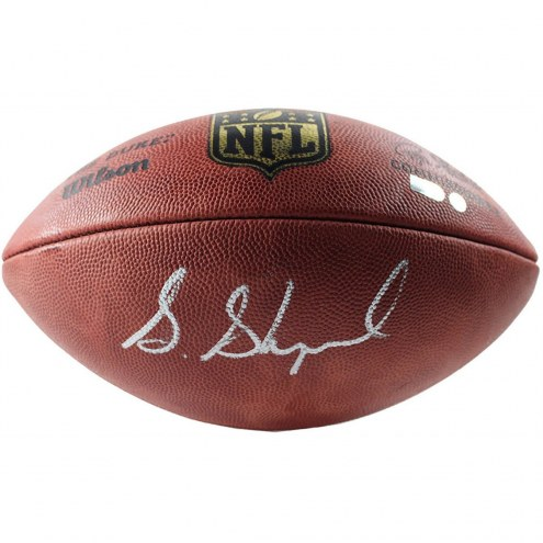 New York Giants Sterling Shepard Signed Wilson NFL Composite Replica Football