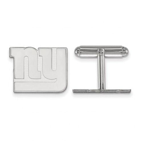 New York Giants Sterling Silver Cuff Links