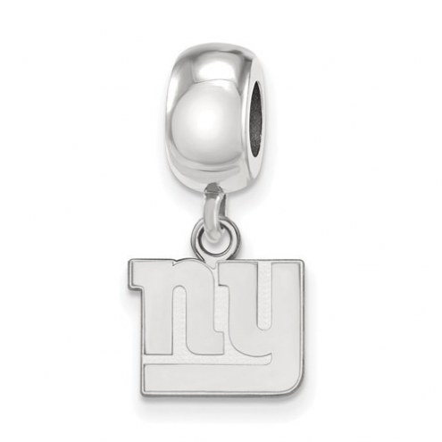 New York Giants Sterling Silver Extra Small Dangle Bead Charm