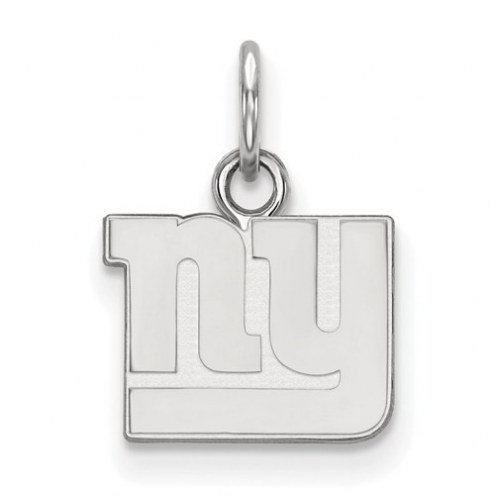 New York Giants Sterling Silver Extra Small Pendant