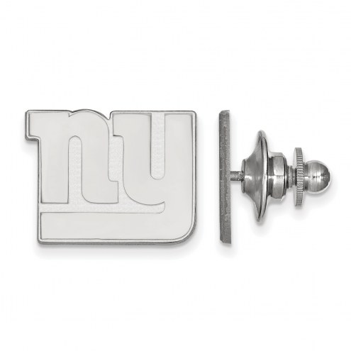 New York Giants Sterling Silver Lapel Pin