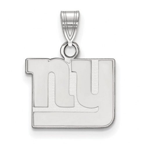 New York Giants Sterling Silver Small Pendant