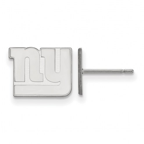 New York Giants Sterling Silver Small Post Earrings