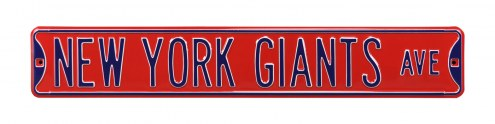 New York Giants Street Sign