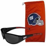 New York Giants Sunglasses and Bag Set